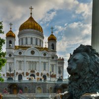 Вид на Храм Христа Спасителя :: Kasatkin Vladislav