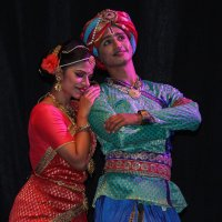 Индийский фестиваль. Сцена из спектакля 2 :: Александр Мельник