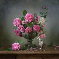 Роза и соловей. Вариант :: Татьяна Карачкова