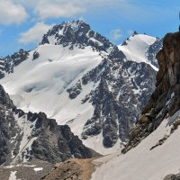обзор гор. фото снято на высоте 3450 м приблизительно :: Горный турист Иван Иванов