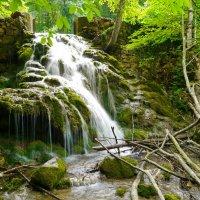 водопад в заповедном Крыму :: Андрей Козлов