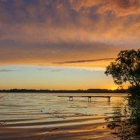 июньский закат :: Galina