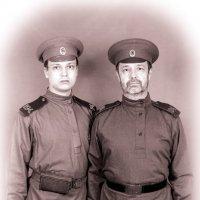 Рядовые пехотного полка в форме обр.1914г. :: Олег Кошкаров
