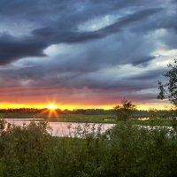 Закат над рекой :: Владимир Платонов