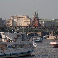 И на воде пробки :: Zifa Dimitrieva