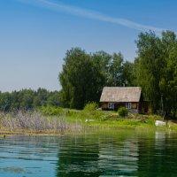 Домик на берегу :: Евгений Небензя