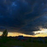 Туча мглою небо кроет. :: Oleg4618 Шутченко