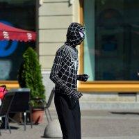 Человек-паук на Невском... :: Андрей Вестмит