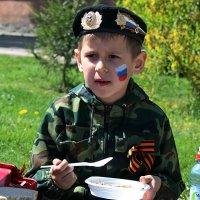 Первая проба армейской каши.... :: Дмитрий Иншин