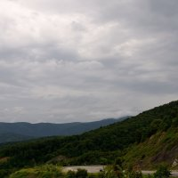 грозовое небо над перевалом :: Мария Климова
