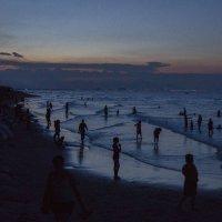 Закат на пляже :: Наталья _