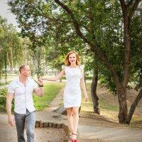 Мои первые молодые... Шагают в новую жизнь:) :: Дарья Казбанова