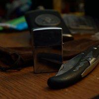 нож и зажигалка :: Stas Beloglazov