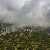 Греция.Вид из окна по дороге на Метеоры. :: юрий макаров