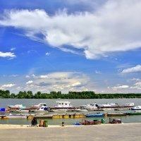 Берег Дуная в Земуне, Белград, Сербия :: Денис Кораблёв