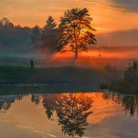 Туманный закат. :: Фёдор. Лашков