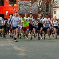 Городские соревнования по бегу :: Валентин Кузьмин