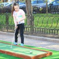 Игра в гольф :: Елена Савельева