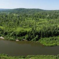 Река Бердь. :: Александр Гурьянов