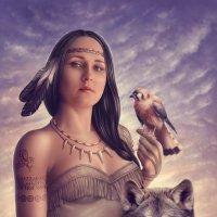 Pocahontas... :: Юлия Тягушова
