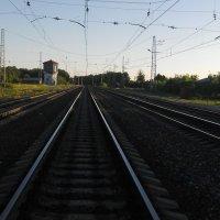 Ранее утро на железной дороге :: Владимир Ростовский