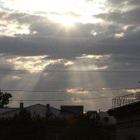 солнце на закате :: ОЛЕГ Корроль