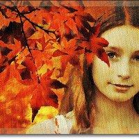 Девушка-осень :: Лидия (naum.lidiya)