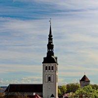 Таллин. Церковь Нигулисте :: Олег Попков