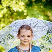 Фотосессия с зонтиком :: марина алексеева