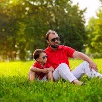 папа и сын :: Лана Lavin