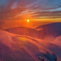 Красочность снежной пурги. :: Фёдор. Лашков