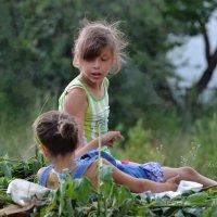 Даша и САша :: Валерий Лазарев