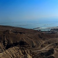 Вид на мертвое море :: сергей адольфович
