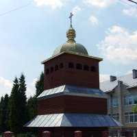 Деревянная  звонница  в  Криховцах :: Андрей  Васильевич Коляскин