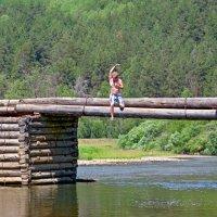 Прыжок с моста :: Вера Щукина