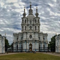 Смольный собор.Санкт-Петербург :: Сергей Басов