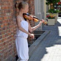 Девочка со скрипкой :: Kliwo