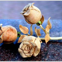Розы из крымского можжевельника :: Ирина Фирсова