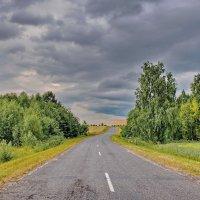 Вечерняя  дорога. :: Валера39 Василевский.