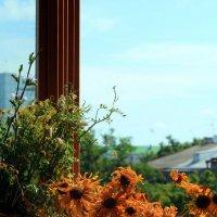 Снова об окнах и букетах :: Ирина Сивовол