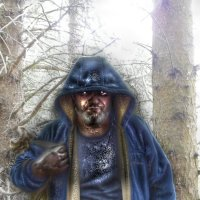 Чёрный грибник :: Андрей Солан