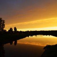 Река на закате :: Елизавета Зайцева