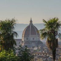 Флоренция. Панорамный вид на Duomo :: Павел Федоров