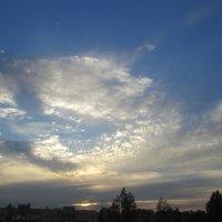 Облака на закате :: Самохвалова Зинаида