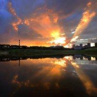 Закатный взрыв...3 :: Андрей Войцехов