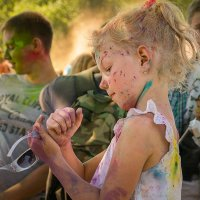 Фестиваль краски Холи! :: Александр Рамус