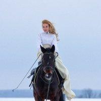 Фотосессия с лошадью :: Ксения Ямалова