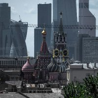 Вид на Кремль с Хитровки. :: Георгий Розов