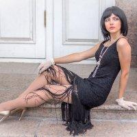 Девушка в чёрном. :: Александр Лейкум