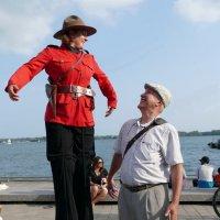 Восхищаюсь полицией в Торонто. Она всегда на высоте! :: Юрий Поляков